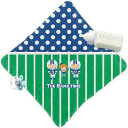 Football Security Blanket (Personalized)