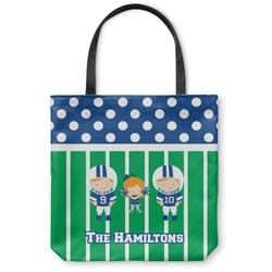 Football Canvas Tote Bag (Personalized)