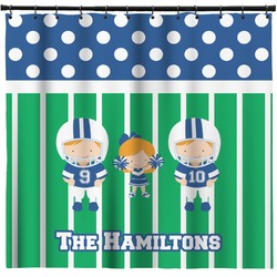 Football Shower Curtain (Personalized)