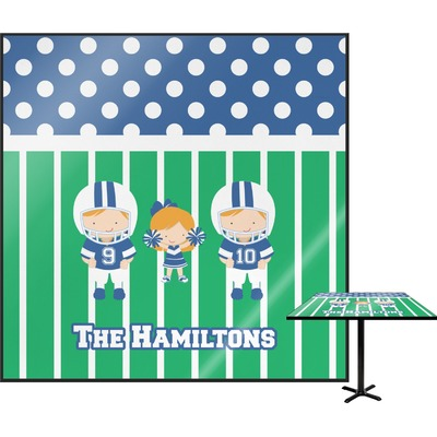 Football Square Table Top - 24