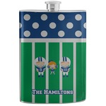 Football Stainless Steel Flask (Personalized)