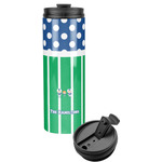 Football Stainless Steel Tumbler (Personalized)