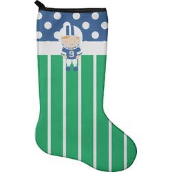 Football Holiday Stocking - Neoprene (Personalized)