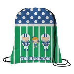 Football Drawstring Backpack (Personalized)