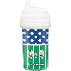 Football Toddler Sippy Cup (Personalized)