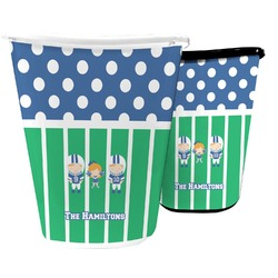 Football Waste Basket (Personalized)