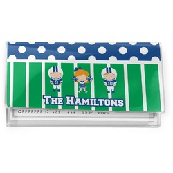 Football Vinyl Checkbook Cover (Personalized)