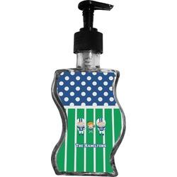 Football Wave Bottle Soap / Lotion Dispenser (Personalized)