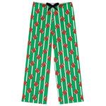 Football Womens Pajama Pants (Personalized)