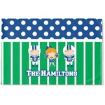 Football Woven Mat (Personalized)