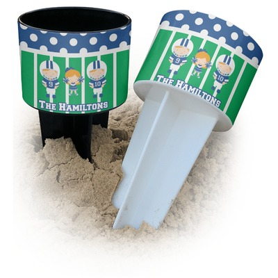 Football Beach Spiker Drink Holder (Personalized)