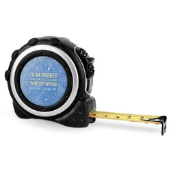 Engineer Quotes Tape Measure - 16 Ft (Personalized)