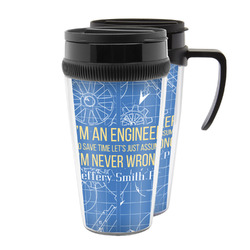 Engineer Quotes Acrylic Travel Mugs (Personalized)