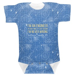 Engineer Quotes Baby Bodysuit (Personalized)