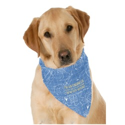 Engineer Quotes Pet Bandanas (Personalized)