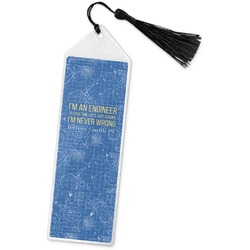 Engineer Quotes Book Mark w/Tassel (Personalized)
