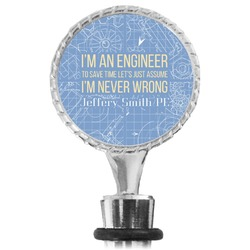 Engineer Quotes Wine Bottle Stopper (Personalized)