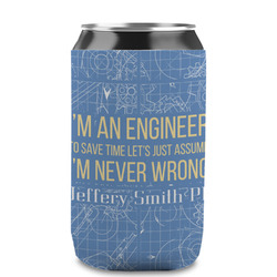 Engineer Quotes Can Sleeve (12 oz) (Personalized)