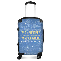 Engineer Quotes Suitcase (Personalized)