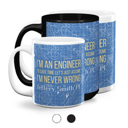 Engineer Quotes Coffee Mugs (Personalized)
