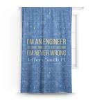 Engineer Quotes Curtain (Personalized)