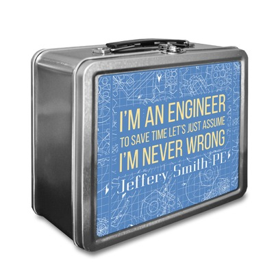 Engineer Quotes Lunch Box (Personalized)