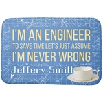 Engineer Quotes Dish Drying Mat (Personalized)