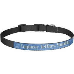 Engineer Quotes Dog Collar - Large (Personalized)