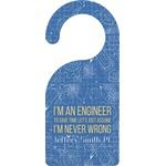 Engineer Quotes Door Hanger (Personalized)