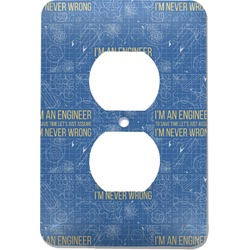 Engineer Quotes Electric Outlet Plate (Personalized)