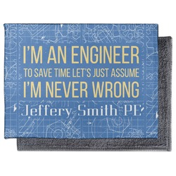 Engineer Quotes Microfiber Screen Cleaner (Personalized)