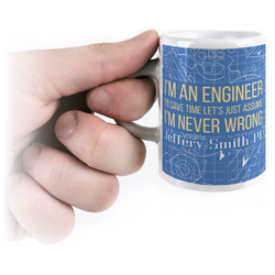 Engineer Quotes Espresso Cups (Personalized)