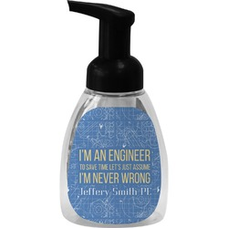 Engineer Quotes Foam Soap Bottle (Personalized)