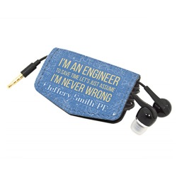 Engineer Quotes Genuine Leather Cord Wrap (Personalized)
