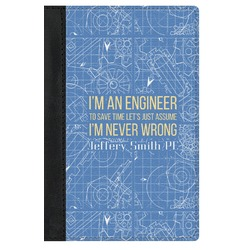 Engineer Quotes Genuine Leather Passport Cover (Personalized)