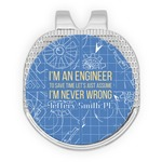 Engineer Quotes Golf Ball Marker - Hat Clip