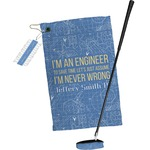 Engineer Quotes Golf Towel Gift Set (Personalized)