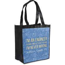 Engineer Quotes Grocery Bag (Personalized)