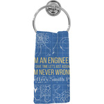 Engineer Quotes Hand Towel - Full Print (Personalized)