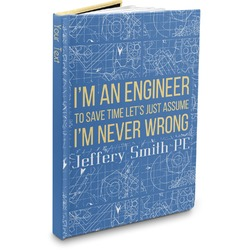 Engineer Quotes Hardbound Journal (Personalized)