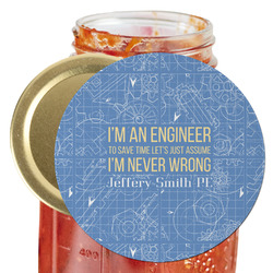 Engineer Quotes Jar Opener (Personalized)