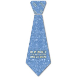 Engineer Quotes Iron On Tie (Personalized)