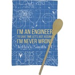 Engineer Quotes Kitchen Towel - Full Print (Personalized)