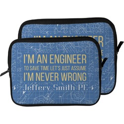 Engineer Quotes Laptop Sleeve / Case (Personalized)