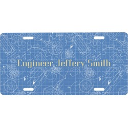 Engineer Quotes Front License Plate (Personalized)