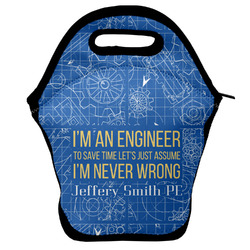 Engineer Quotes Lunch Bag w/ Name or Text