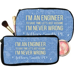 Engineer Quotes Makeup / Cosmetic Bag (Personalized)