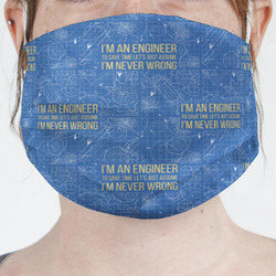 Engineer Quotes Face Mask Cover (Personalized)