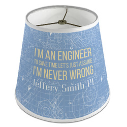 Engineer Quotes Empire Lamp Shade (Personalized)