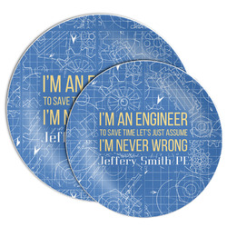 Engineer Quotes Melamine Plate (Personalized)